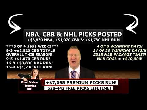 free-sweet-16-predictions,-college-basketball-picks,-+$7,095-premium-picks-run-(03/22/2018)