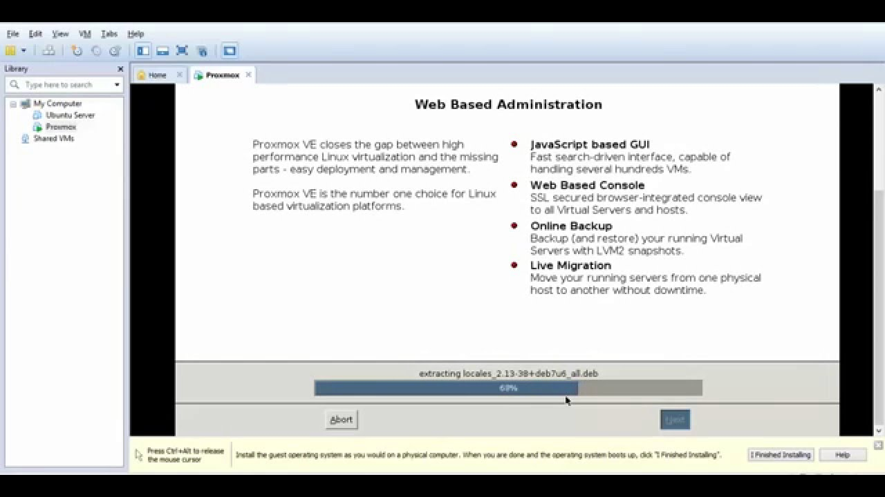 How to Install Proxmox 3 4
