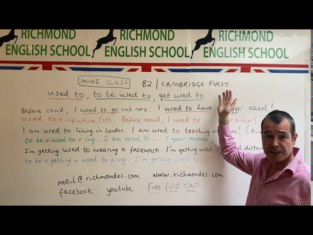MINI CLASS WITH TOM! - B2 level grammar #1