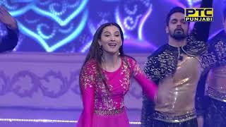 Gauahar Khan   LIVE Performs at PTC Punjabi Music Awards 2018 (11/19)