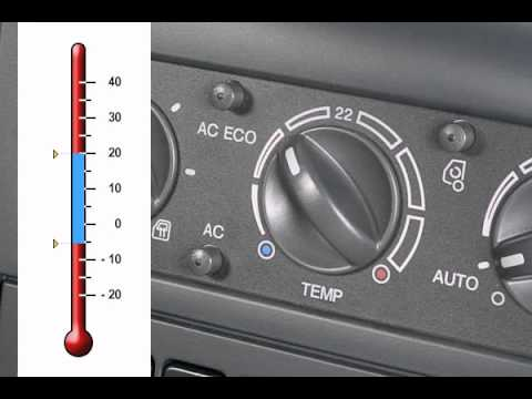 Air Conditioning With Automatic Temperature Control Youtube