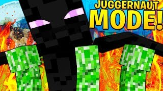 BRAND NEW MODDED JUGGERNAUT MODE MINECRAFT OP MONSTERS INDUSTRIES 2.0