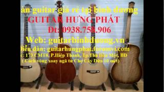 Đàn guitar cho sinh viên, người mới tập chơi Thủ Dầu Một, Bình Dương