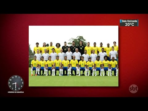 Seleção chega a Viena para amistoso contra a Áustria   SBT Brasil (08/06/18)