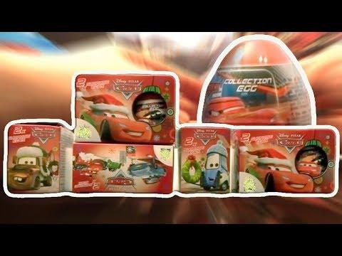 Mobil 10 PIXAR Disney Kinder Surprise Eggs Lightning McQueen # 70