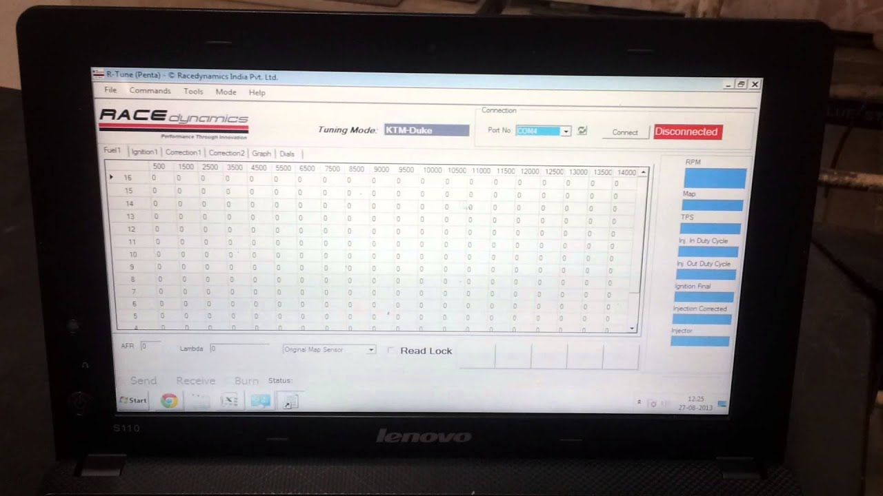 Powertronic How To Connect Rtune Software V1 Ecu Only Youtube Powertronixinductor1jpg