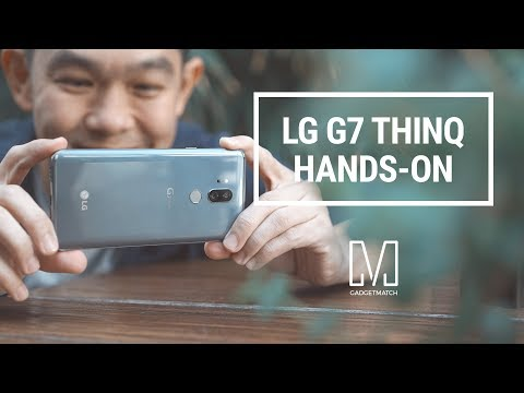 LG G7 ThinQ Hands-On
