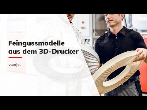 0 - Voxeljet: 3D-Druck ermöglicht wirtschaftlichen Feinguss