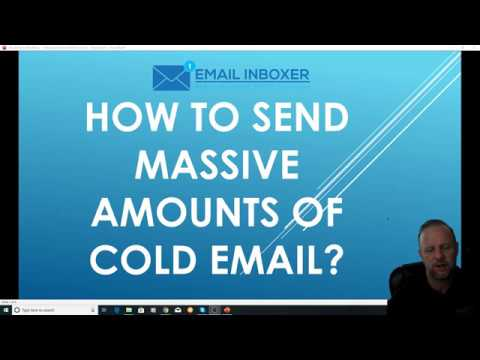 How to send MASSIVE amounts of Cold Email - TO THE INBOX!  EVERY TIME!