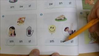 phonics 4 unit 5 sm sn st sw consonant pairs