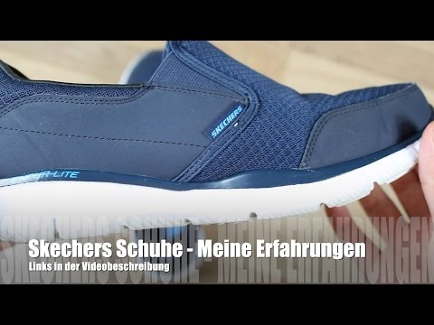 quality design 7a3ad 2e2b1 Skechers Sneakers Schuhe im Test/ Review - YouTube