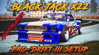 [CXDR2] Black Jack X22 Pro-Drift III Custom Setup (Ford Mustang Hoonicorn) | CarX Drift Racing 2