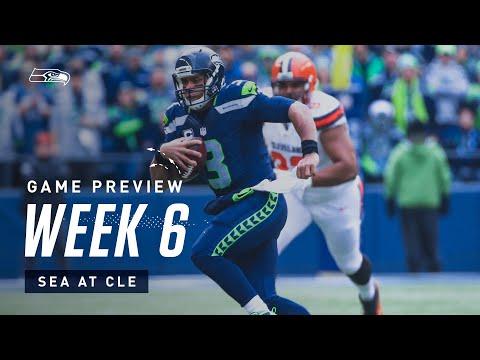 2019 Week 6: Seahawks at Browns Preview