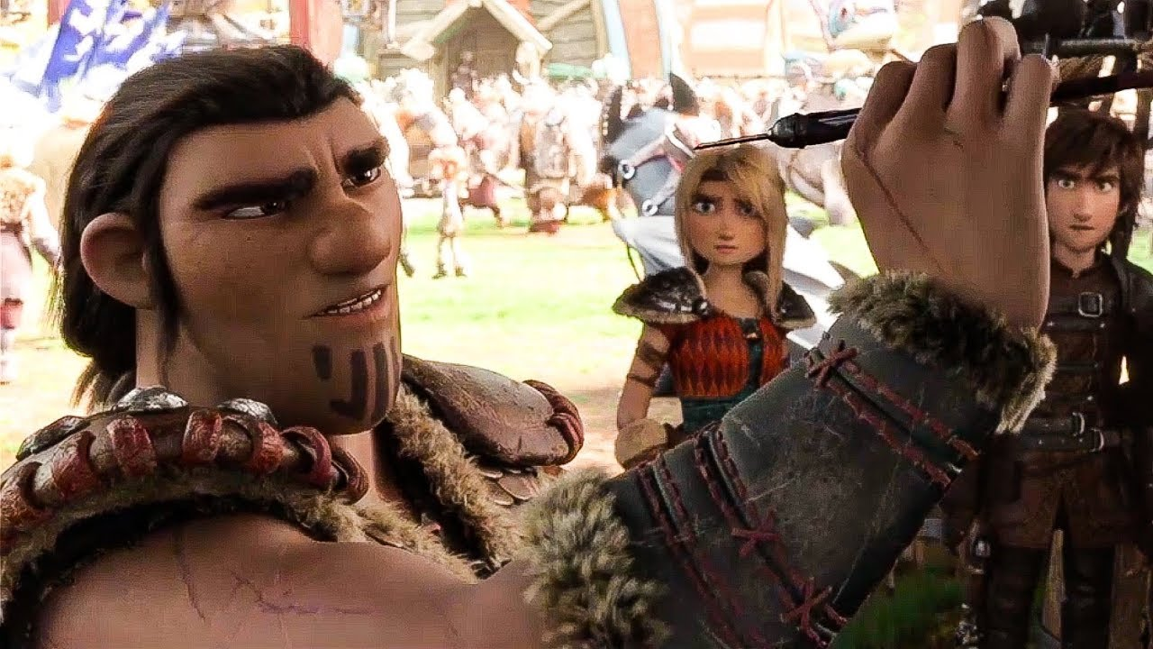 How To Train Your Dragon 3 Grimmel Movie Scene 2019 HD