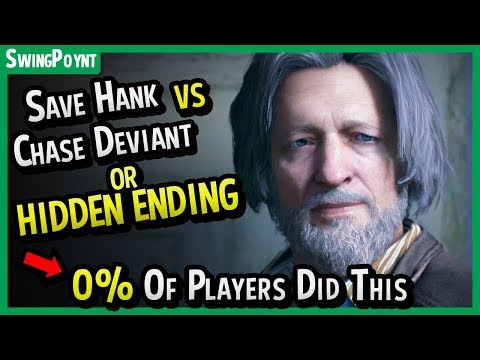 Detroit Become Human  0% OF PLAYERS Got This Ending + Save Hank VS Chase Deviant Nest All Endings