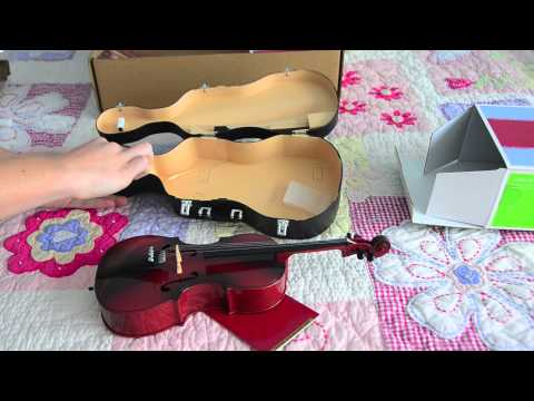 Opening/Review Of The American Girl Doll Cello Set