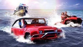 Единственный в РФ плавающий джип и квадроцикл! Watercar и Quadski