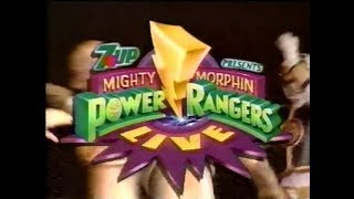 (August 7, 1995) Fox Kids Commercials during Mighty Morphin Power Rangers