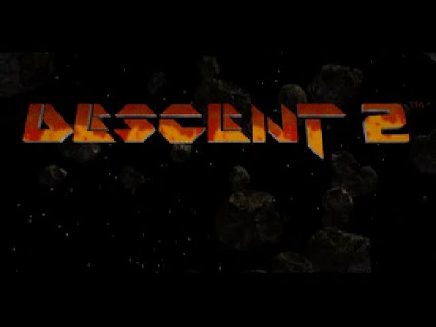 Descent 2 - Video Game trailer (1995)