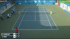 Elias Ymer (SWE) v Sebastian Fanselow (GER) I ATP Challenger Pune 2018 QF