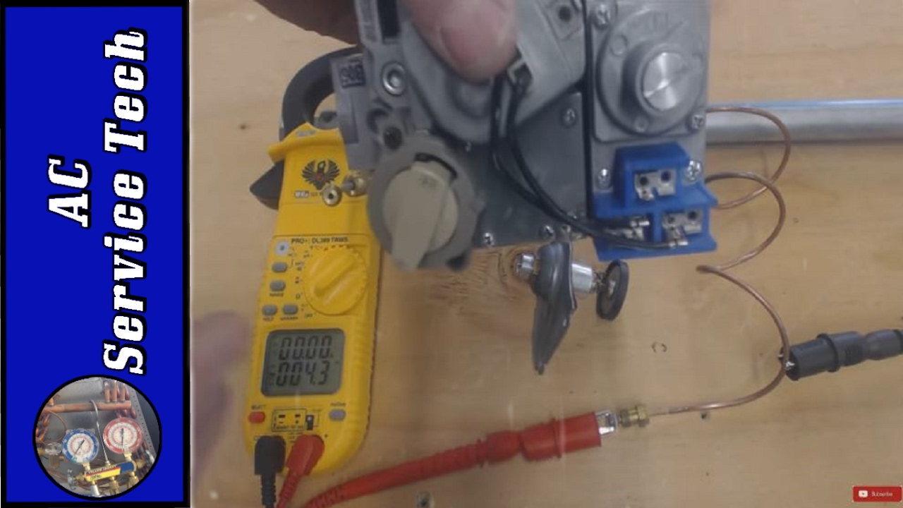 How a Combination Gas Valve and Thermocouple Work! Gas Valve Thermopile Voltage Wiring Diagram on