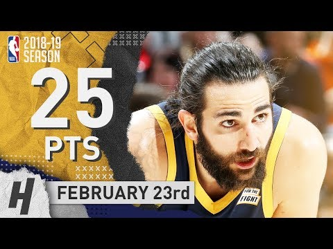 Ricky Rubio Full Highlights Jazz vs Mavericks 2019.02.23 - 25 Pts, 5 Ast, 4 Rebounds!