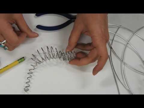 Wire sculpture practice: complex form