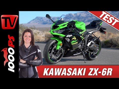 Kawasaki ZX6-R 2019 - Test der 600 Ninja auf der Landstraße