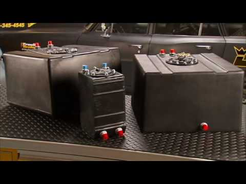 JEGS Drag Race Polyethylene Fuel Cells With Kenny Wallace