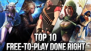 Top 10 Free to Play Done Right 2015 | FreeMMOStation.com