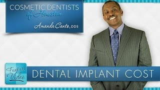 """How Much Do Dental Implants Cost?"" - Dentist in Houston Dr. Amanda Canto Thumbnail"
