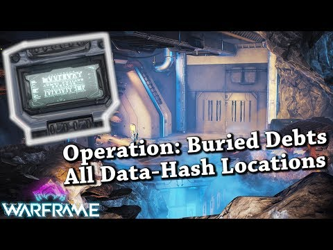 Warframe | Operation: Buried Debts - All Data-Hash Locations [Guide] thumbnail