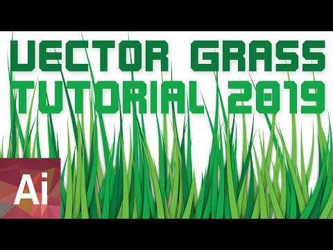 Vector Grass 2019 - Adobe Illustrator Tutorial thumbnail