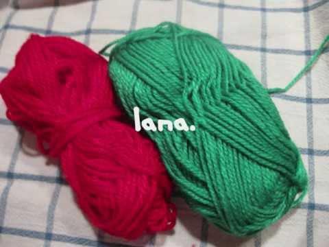 Manualidades navide as pompones de lana para el arbol de for Manualidades para ninos con lana