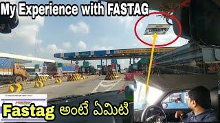 FASTAG🇮🇳తో నా Experience|FASTAG installation in telugu|telugu car review