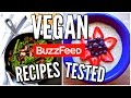 Buzzfeed Food Recipes TESTED! Vegan Breakfast, Snacks, and Dinner