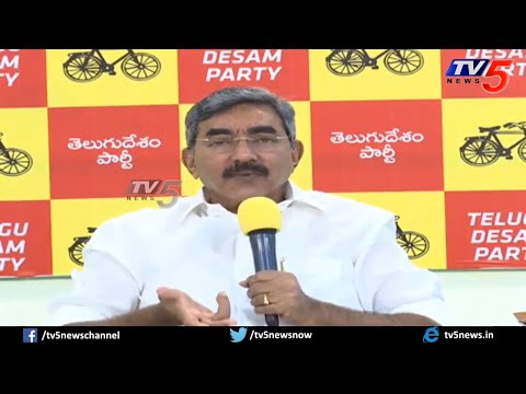 Alapati Rajendra Prasad Press Meet on Buggana Comments | YSRCP Vs TDP | TV5 News