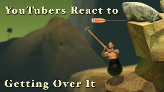 YouTubers React to Getting Over It with Bennett Foddy