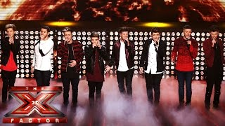 Stereo Kicks sing Elton John's Don't Let The Sun Go Down On Me | Live Week 7 | The X Factor UK 2014
