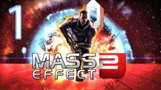 Mass Effect 2 Walkthrough - Part 1 - Intro (PC Gameplay / Commentary)