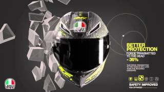 capacete agv pista gp valentino rossi lanamento 2016