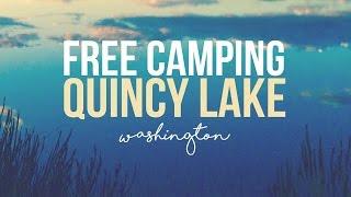 Free Camping at Quincy Lake, Washington - a Drivin' & Vibin' Travel Vlog