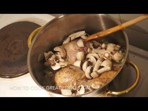 how to cook cream of chicken