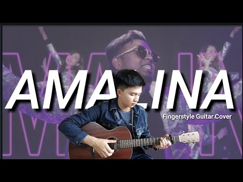 Amalina   Santesh   Guitar Cover by Lenzely