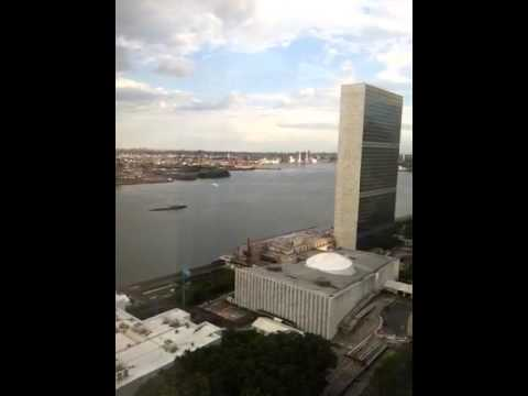 View from Trump World Tower