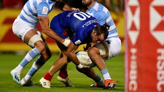 France 7 masculin : Les essais contre l'Argentine à Dubaï