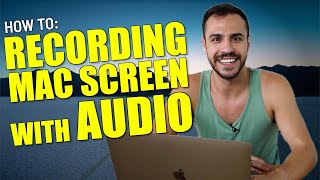 How To Screen Re¢ord With Audio on Mac - Quicktime Screen Recording