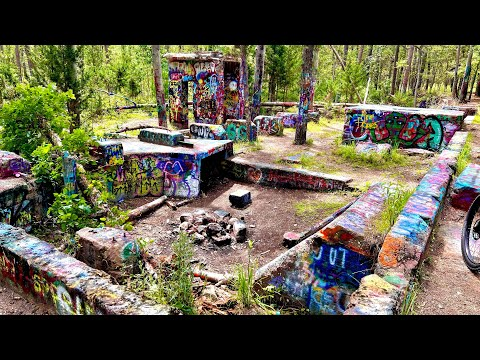 Abandoned NJ Tile and Brick Factory Ruins Pine Barrens Pasadena Brooksbrae