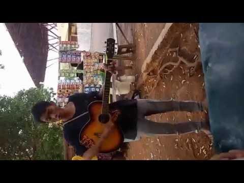 kristal - sejenak cover by street musician