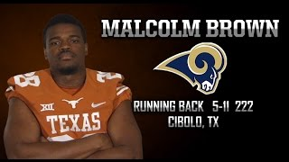 Highlights of Texas Football RB Malcolm Brown [May 8, 2015]